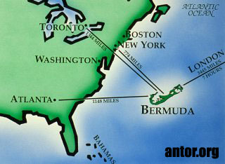 map of bermuda geography bermuda location north america